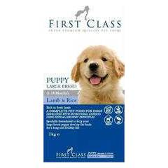 first class puppy large lamb köpek maması 12kg