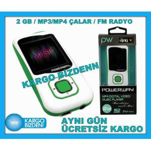 MP4 PLAYER MP3 MP4 �ALAR 2 GB RADYOLU