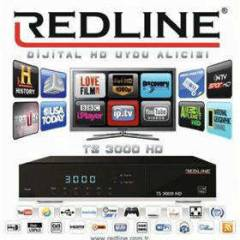 Redline TS 3000 PLUS FULL HD UYDU ALICISI