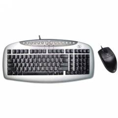 A4 Tech KB-21620D Klavye Mouse Set / Siyah / PS2
