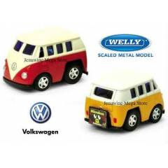 WELLY VW MİNİ DİECAST METAL ÇEK BIRAK ARABA