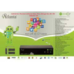 Atlanta HD Smart Box G4 (full set 2 kumandalı)