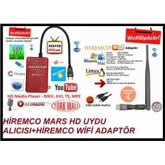 HİREMCO MARS FULL HD + WİFİ ADAPTÖR HEDİYE