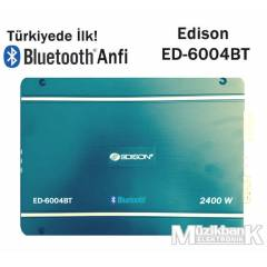 Edison ED-6004BT 2400 Watt Bluetooth 4Kanal Anfi