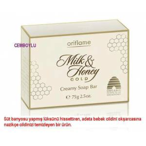 Oriflame  Milk & Honey Gold Kremli Sabun