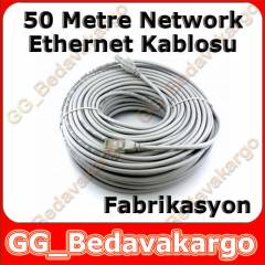 50 Metre CAT5e Ethernet İnternet Adsl Kablo