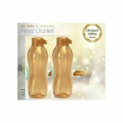 TUPPERWARE EKO ŞİŞE 500 ML SULUK GOLD 2 Lİ SET