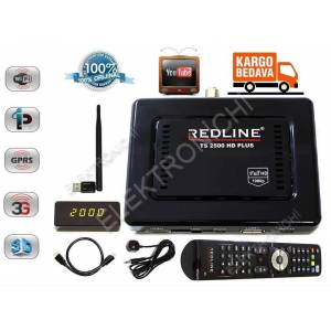 REDL�NE TS 2500 FULL HD PLUS M�N� UYDU ALICISI