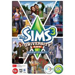 PC THE SIMS 3 UNIVERSITY LIFE SIFIR
