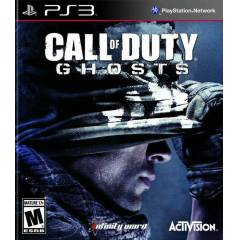 CALL OF DUTY GHOSTS PS3 SIFIR AMBALAJINDA