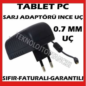 TABLET PC SARJ ALET� ADAPT�R �NCE U�LU 5V 2A