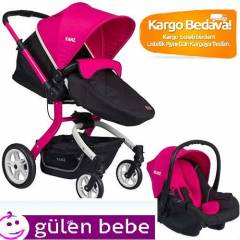 Kanz Bavyera Travel Bebek Arabası 2015 MODEL