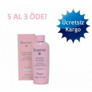 ROSENSE NATURAL G�L SUYU 300 ML 5 AL 3 �DE