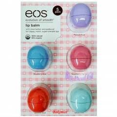EOS Lip Balm 5'li Paket- Made in USA