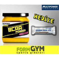 Multipower BCAA POWDER 400 GR + 2 HEDİYELİ
