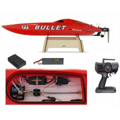 Joysway 8301 Red Bullet 2.4Ghz RC Speed Boat