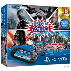Sony Ps Vita Slim Action Mega Pack +16GB Hafıza