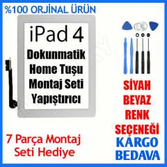APPLE İPAD 4 DOKUNMATİK CAM ORJİNAL LENS