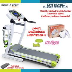 Dynamic Fluence Power Plus Koşu Bandı-Kumandalı