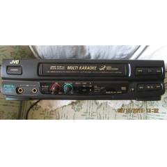 JVC HR-P61K KARAOKE VHS VİDEO RECORDER