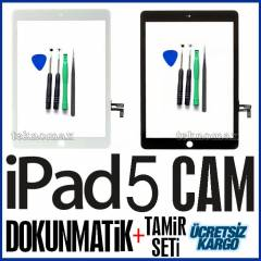 APPLE IPAD AİR IPAD 5 CAM DOKUNMATİK +TAMİR SETİ