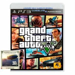 GTA 5 PS3 Grand Theft Auto V PS3 STOKTA JETT KRG