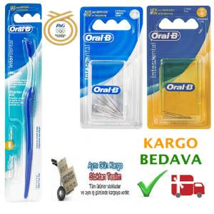 ORAL-B �NTERDENTAL D�� ARASI ARAY�Z FIR�A SET�!