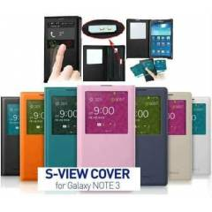 SAMSUNG GALAXY NOTE 3 KILIF FLiP COVER S-ViEW