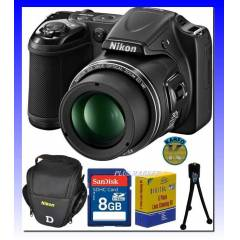 Nikon L820 16MP VR FULL HD 30X Fotoğraf Makinesi