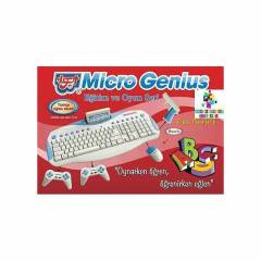 MICROGENIUS KLAVYELİ ATARİ MM-1119 TV Atarisi