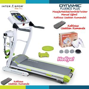 Dynamic FluenceM Plus Motorlu Masajl� Ko�u Band�