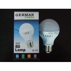 GERMAN POWER 5 WATT BEYAZ LED AMPUL 5 WATT E27