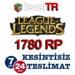League Of Legends LOL 1780 RP T�rkiye Riot Pin
