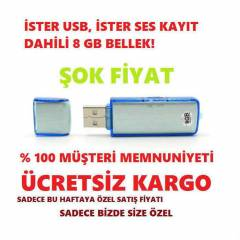 SES KAYIT CİHAZI HD 8 GB 2015 MODEL