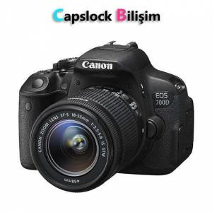 Canon 700D + 18-55mm IS STM Lens Foto�raf Makine