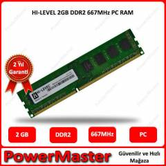 HI-LEVEL 2GB DDR2 667MHz PC RAM