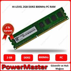 HI-LEVEL 2GB DDR2 800MHz PC RAM