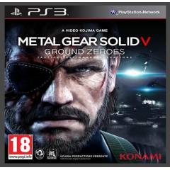 METAL GEAR SOLID V: GROUND ZEROES Ps3 oyun