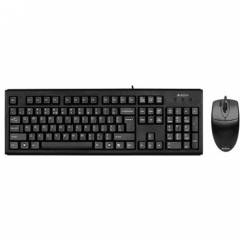 A4 Tech KM-72620D Klavye Mouse Set / Siyah / PS2