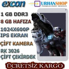 Excon M81 Ips Ekran Tablet Pc Dual Core,2Kamera