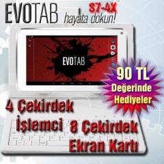Evotab 4Çekirdekli Tablet Pc Android 4.4 2Kamera