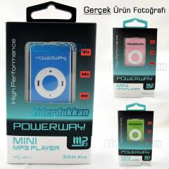 MP3 Çalar Mp3 Player Kulaklık ve USB Şarz Dahil