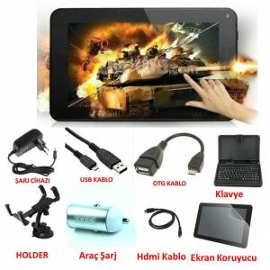 "Excon M72T 7"" Gps Navigasyon Tablet Pc Full Set"