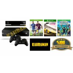 XBOX ONE 500 GB + KINECT+ S. RIVALS+FİFA 15+FH 2