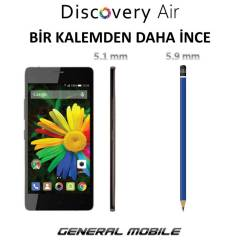 GENERAL MOBİLE DİSCOVERY AİR CEP TELEFONU
