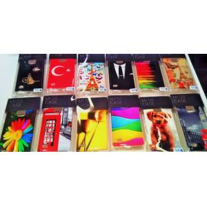 iPhone+6+Ultra Parlak Bask�l�+Arka+Kapak