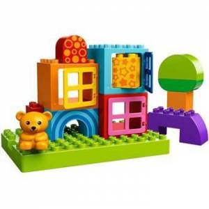 Lego Duplo Toddler Build and Play Cubes Oyun Set