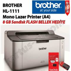 Brother HL-1111 Mono Lazer Printer HEDİYELİ ÜRÜN