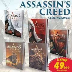 Assassin's Creed - Çizgi Roman 5 Kitap Set