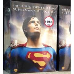 Superman Collection 1 2 3 4  özel 9 DVD set